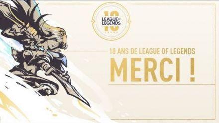 10 ans de League of Legends - Remerciements