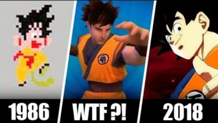 Vid�o : Dragon Ball Z, 1986-2018 : L'évolution de Son Goku en 69 jeux !