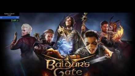 Vid�o : Baldur's Gate 3 beaten in 5:58.56 Solo, Level 1 (vidéo de Professor Palmer)