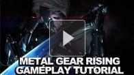 Metal Gear Rising Revengeance : le début du jeu en vidéo
