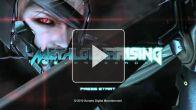Metal Gear Rising : l'écran titre en vidéo