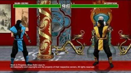 Vid�o : Mortal Kombat HD : Gameplay WIP