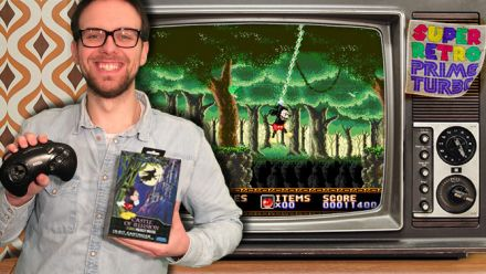Vid�o : Super Retro Prime Turbo : Romain joue avec vous à Castle of Illusion