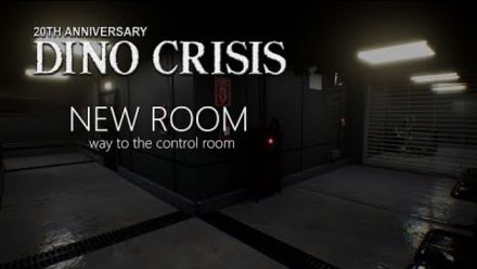 vidéo : Dino Crisis Fan Made Proyect 2019 New Rooms Way to the control room (Vidéo Team Arklay's)