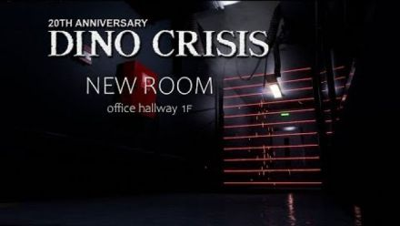 vidéo : Dino Crisis Fan Made Proyect 2019 New Room ,Office Hallway (Vidéo Team Arklay's)