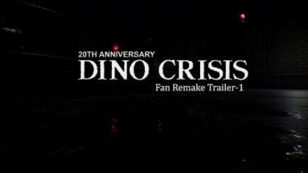 vidéo : Dino Crisis Fan Made Proyect 2019 Trailer 1 (vidéo de Team Arklay's)
