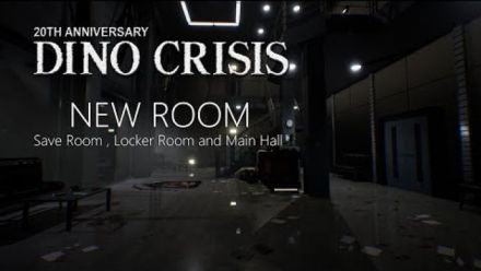 Vidéo : Dino Crisis Fan Made Proyect 2019 New Rooms (team Arklay's)