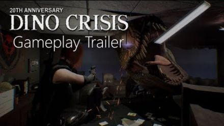 vid�o : Dino Crisis Fan Made Proyect 2019 Gameplay Trailer (team Arklay's)