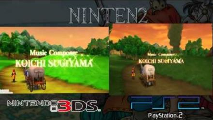 Dragon Quest VIII 3DS VS PS2
