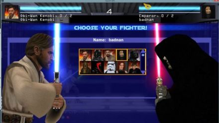 Vid�o : Le mode JEDI FIGHTER