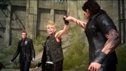 Final Fantasy XV Gameplay de nuit