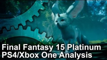 Final Fantasy XV : Comparatif démo Xbox One et PS4