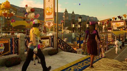 Final Fantasy XV : Le Moogle Chocobo Carnaval se montre en vidéo