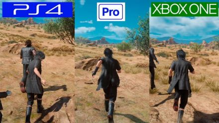Final Fantasy XV : Comparo PS4/PS4 Pro/Xbox One