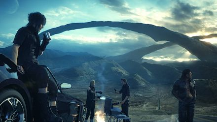 Final Fantasy XV Xbox One X : extrait de l'Active Time Report du 23 juin 2017