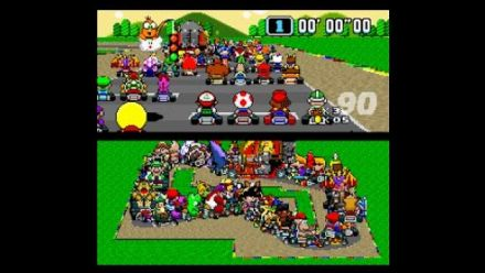 Vid�o : Super Mario Kart... with 101 players!