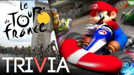 Vid�o : TRIVIA: Mario Kart aurait pu être un jeu de cyclisme inspiré par le Tour de France