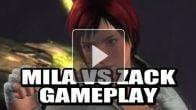 vidéo : Dead or Alive 5 : Mila Vs. Zack