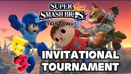 Vid�o : E3. Super Smash Bros. le tournoi en vidéo