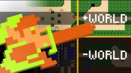Vid�o : The Legend of Zelda : Découverte du Minus World