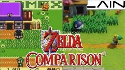 Links Awakening : Comparatif de GameXplain