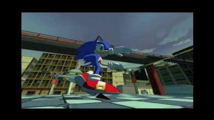 Vidéo : Jet Set Radio Future : Sonic moddé dans JSRF