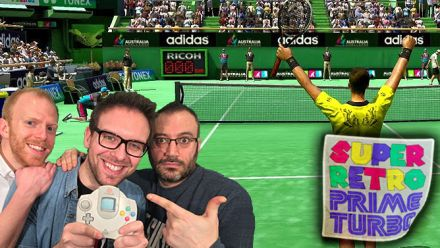 Vid�o : Super Retro Prime Turbo : Virtua Tennis avec Traz, Romain et Thomas