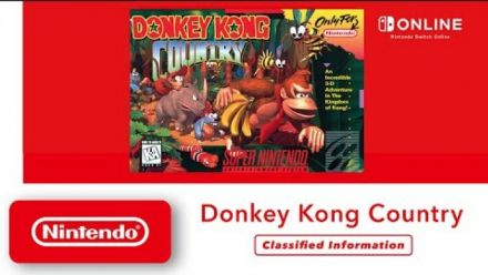 Vid�o : Donkey Kong Country - Classified Information - Nintendo Switch Online