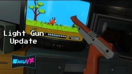 Vid�o : EmuVR : Light Gun Update