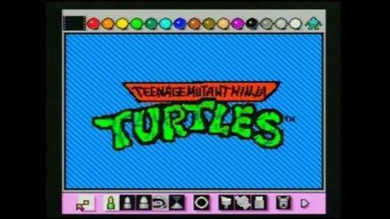 Vid�o : Tortues Ninja : Il recrée le générique dans... Mario Paint !