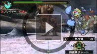 Vid�o : Monster Hunter Portable 3rd - Vidéo des armes #4