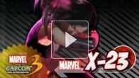 Marvel vs. Capcom 3 : gameplay X-23