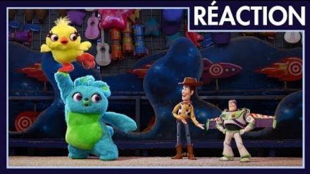 Vid�o : Toy Story 4 : Teaser vidéo de réaction à la bande-annonce