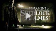 Vid�o : Le Testament de Sherlock Holmes - Teaser 2