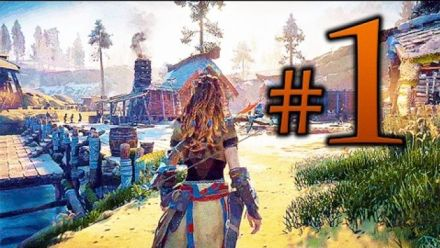 Horizon : Zero Dawn - 1h30 de gameplay