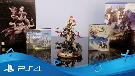 Horizon Zero Dawn : Unboxing de l'édition collector