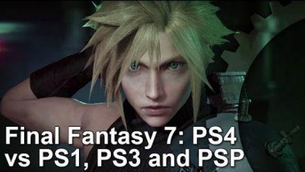 Vid�o : Final Fantasy VII : évolution graphique
