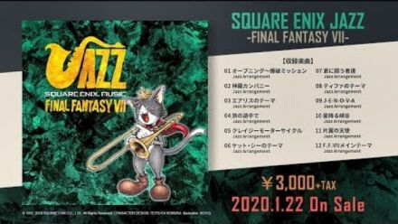 Final Fantasy VII : L'album de reprises jazz se tease