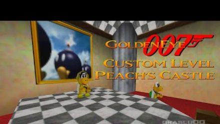 Vid�o : GoldenEye 007 : Le crossover avec Super Mario 64