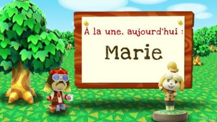 Vid�o : Animal Crossing New Leaf Welcome Amiibo - Marie Trailer