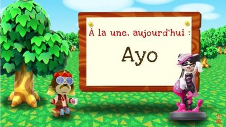 Vid�o : Ayo de Splatoon se présente dans Animal Crossing ׃ New Leaf - Welcome amiibo
