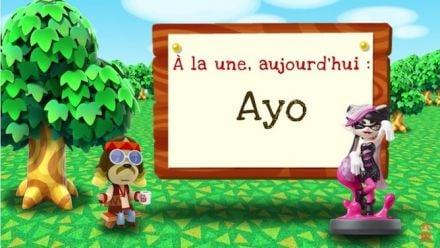 Vidéo : Ayo de Splatoon se présente dans Animal Crossing ׃ New Leaf - Welcome amiibo