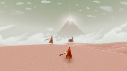 Journey et The Unfinished Swan sur PS4