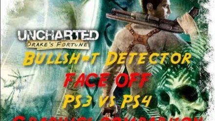Uncharted Drake's Fortune PS3 vs PS4 comparison