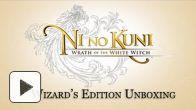 Ni no Kuni : le déballage du collector en vidéo