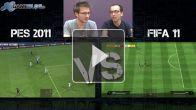 Vidéo : FIFA 11 / PES 2011 : le test vidéo
