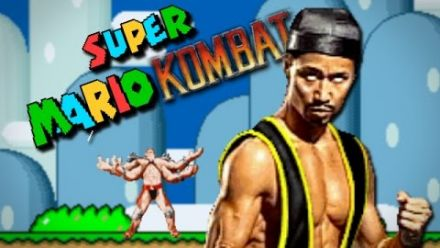 Mortal Kombat dans Super Mario World