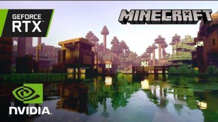 Minecraft avec NVIDIA RTX | Creators Ray Tracing