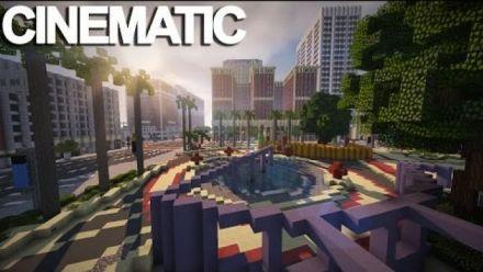 GTA V : Los Santos recréé dans Minecraft