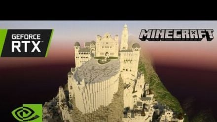 Vid�o : Minecraft with RTX | Minas Tirith by Minecraft Middle-Earth
